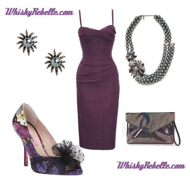 Dreamy Purple Babe